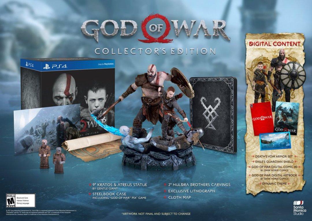God of War Special Editions & Pre-Order Bonus Revealed 2