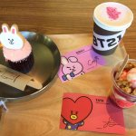 Lilia In Korea On Twitter Visited And Bought Some Bt21 Merchandise Created By Bts Twt At The Linefriends Store Cafe In Itaewon Today I Also Got To Try The Bt21 Tataberrysundae