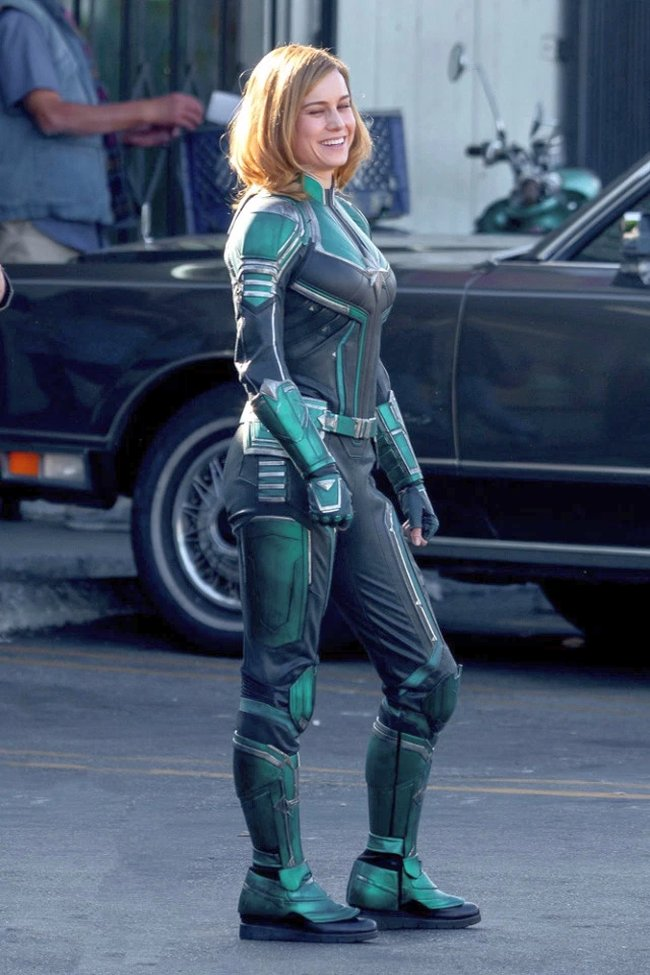 Brie Larson As Captain Marvel Revealed In First Set Photos
