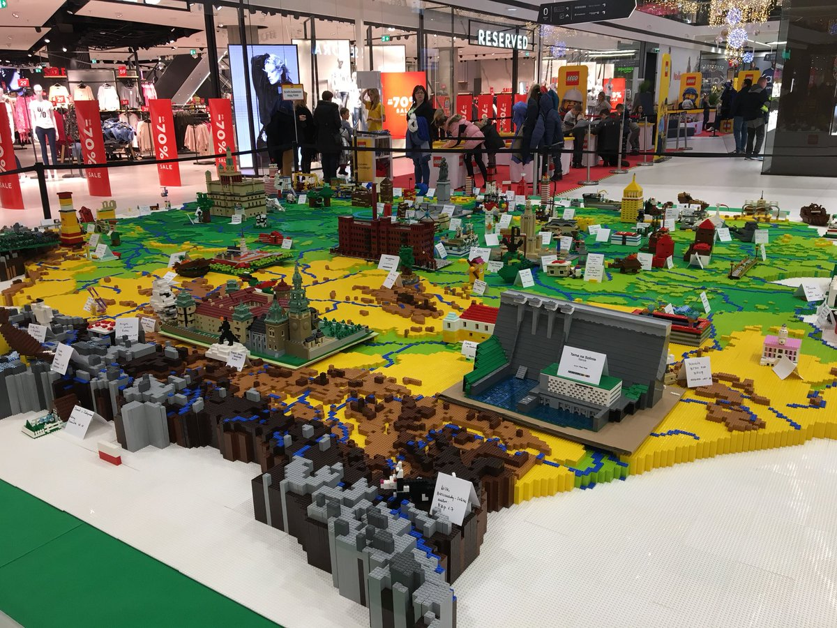 Bryan Roberts on Twitter   This is cool  Lego and a bunch of kids     Bryan Roberts on Twitter   This is cool  Lego and a bunch of kids made a map  of Poland in a shopping centre