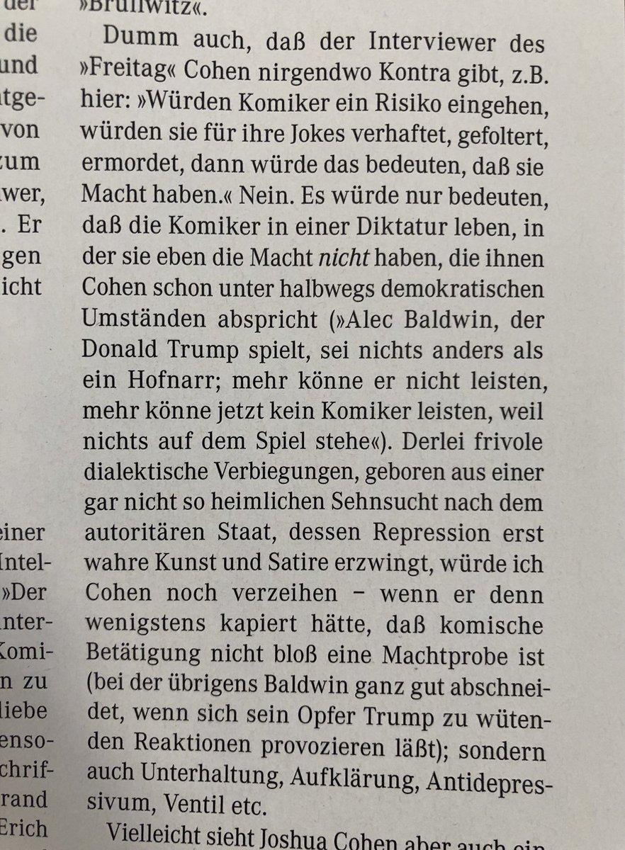 Jan Bohmermann Sur Twitter Spass Und Repression Joshua