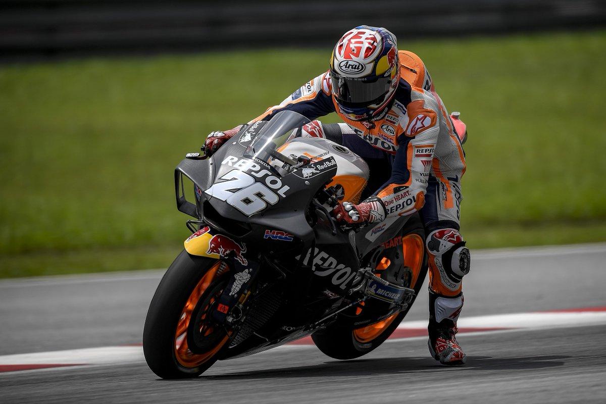 Moto: test Sepang, vola Pedrosa, poi Dovizioso e Lorenzo
