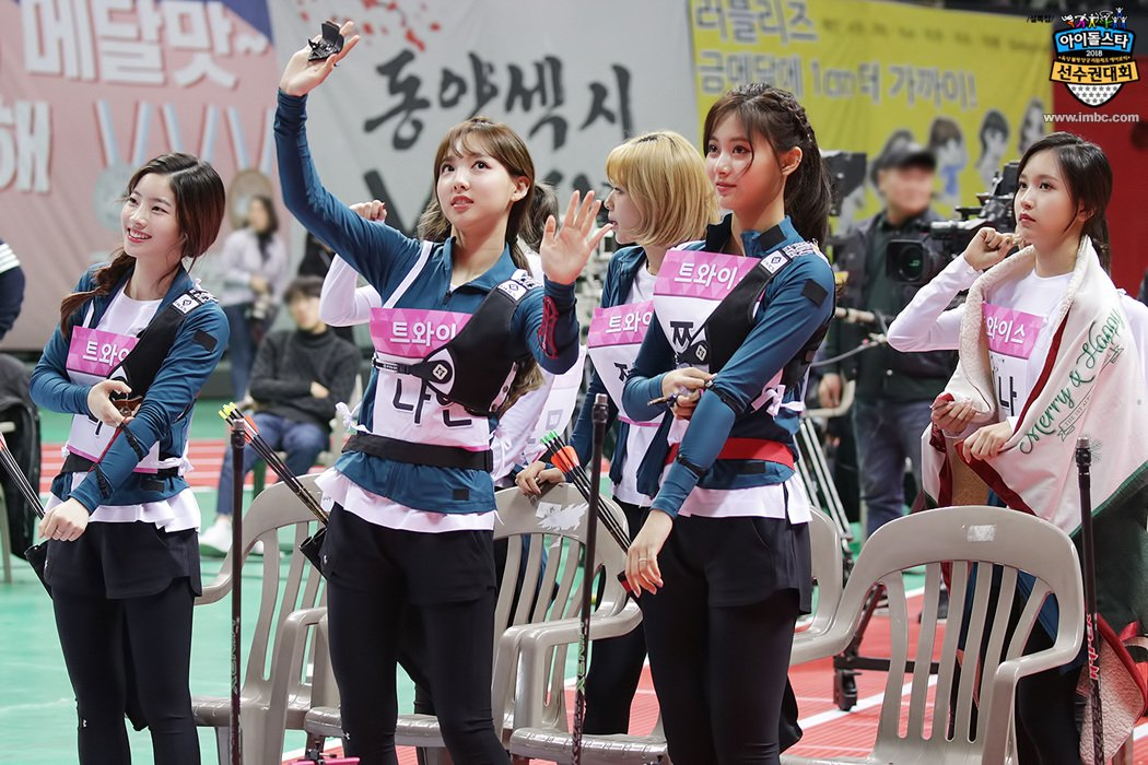 Image result for isac 2018 twice site:twitter.com