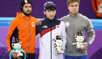 Dutch Speed Skater Says He Did Not Flip The Bird To His Opponent After Winning Silver
