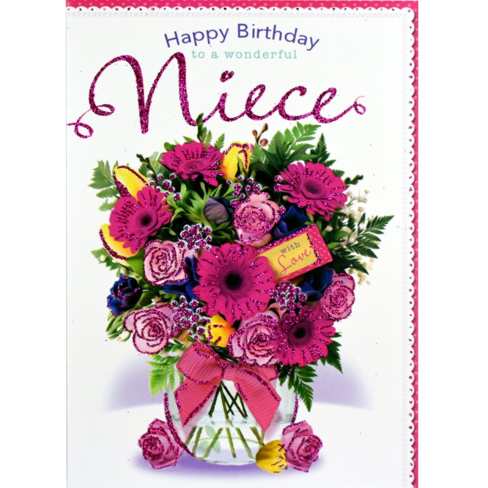 Cardsvalley בטוויטר Gorgeous Niece Birthday Card Greetingcards Niece Birthdaycard Floral Bday 30 Off Promotion And Free Delivery Check It Here Https T Co U4cktctauy Https T Co Zsbieozrvp