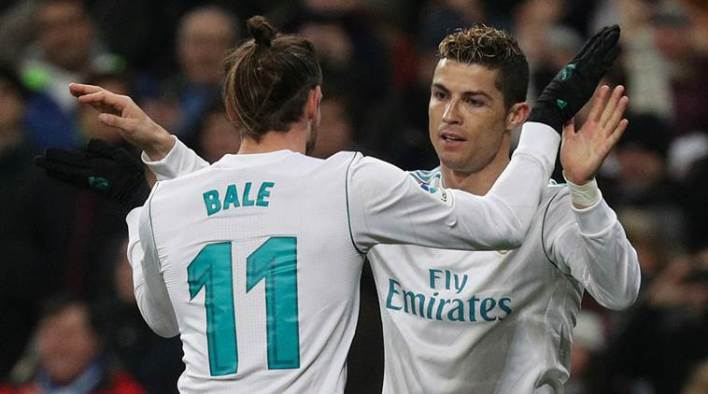 Image result for bale and ronaldo