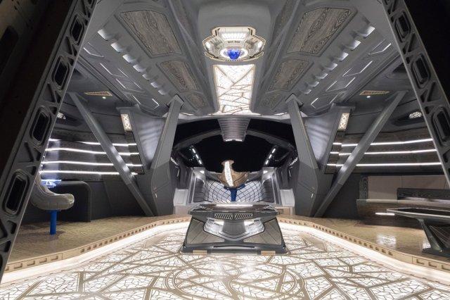 Inside T'Challa's Royal Talon Fighter via Black Panther production designer Hannah Beachler (@chinchilla1970)
