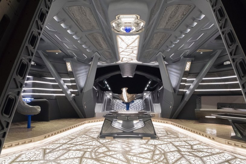 Inside T'Challa's Royal Talon Fighter via Black Panther production designer Hannah Beachler (@chinchilla1970)