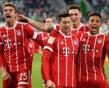 Video: Wolfsburg vs Bayern Munich