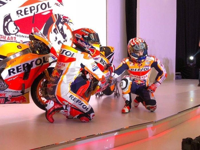 Presentazione Honda MotoGP