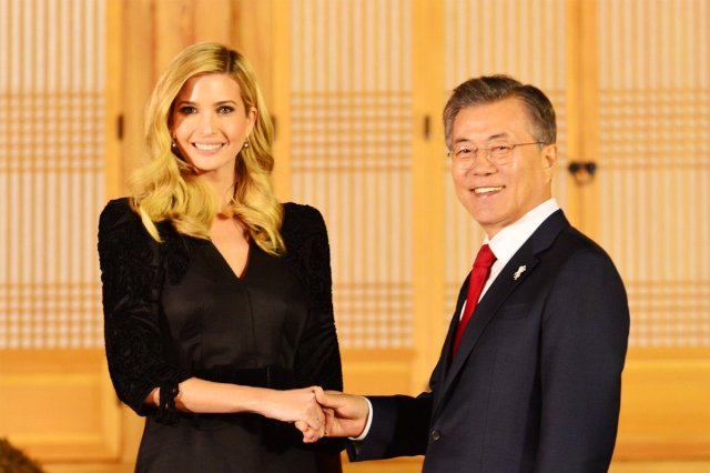 Thank You President Moon And First Lady Kim For Your Warm Hospitality And The Very Special Dinner At The Historic Blue House Marking The Start Of Our Visit