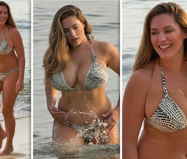 Kelly Brook Parades Her Voluptuous Curves In Jaw Dropping Bikini Pics Https