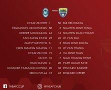 Xem lại: Yangon United vs FLC Thanh Hóa