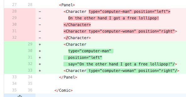 I'm literally refactoring source code of a #comics. How awesome is that?  #ReactJS #CSS