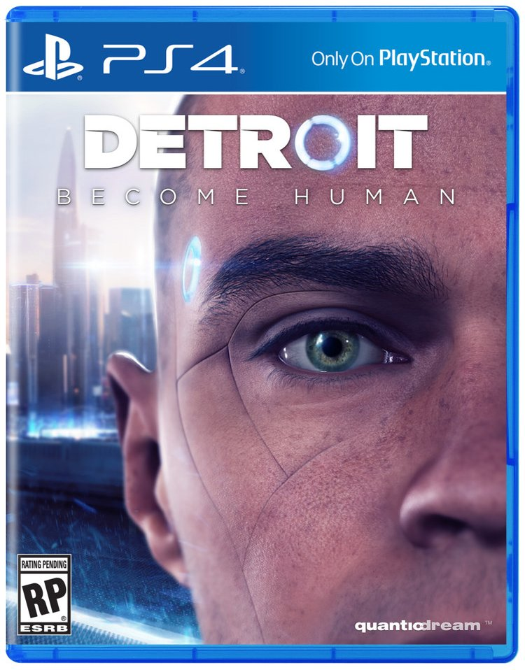 Detroit: Become Human box art