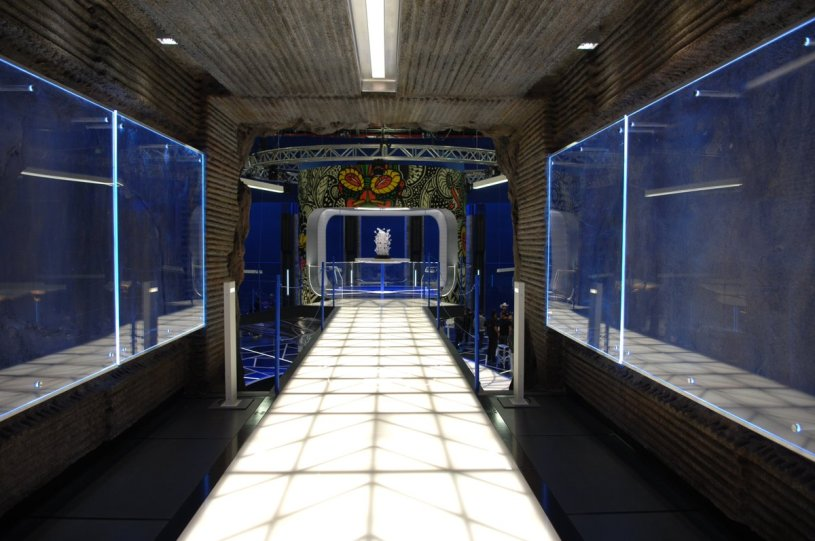 Second floor bridge of Shuri's Lab via Black Panther production designer Hannah Beachler (@chinchilla1970)