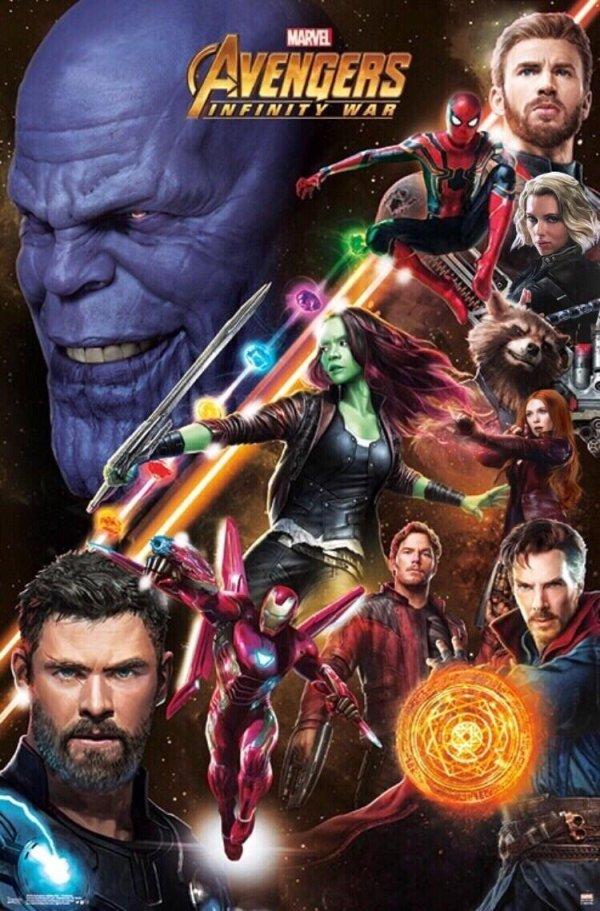 Avengers: Infinity War Promo Poster