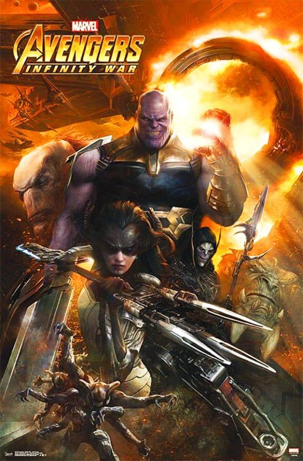 Avengers: Infinity War Promo Posters Have Surfaced