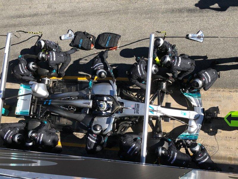 Analisi Test F1 Mercedes W09