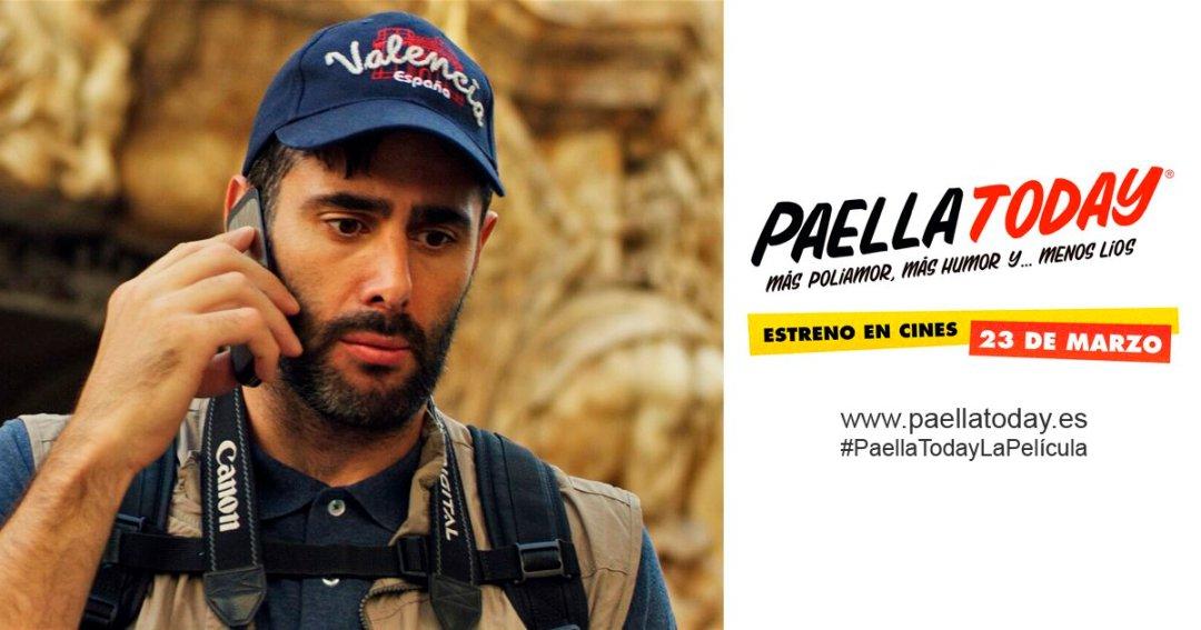 """DAVID AMOR en su primera  incursión en cine """"Paella Today"""" estreno a partir del 23 de marzo"""