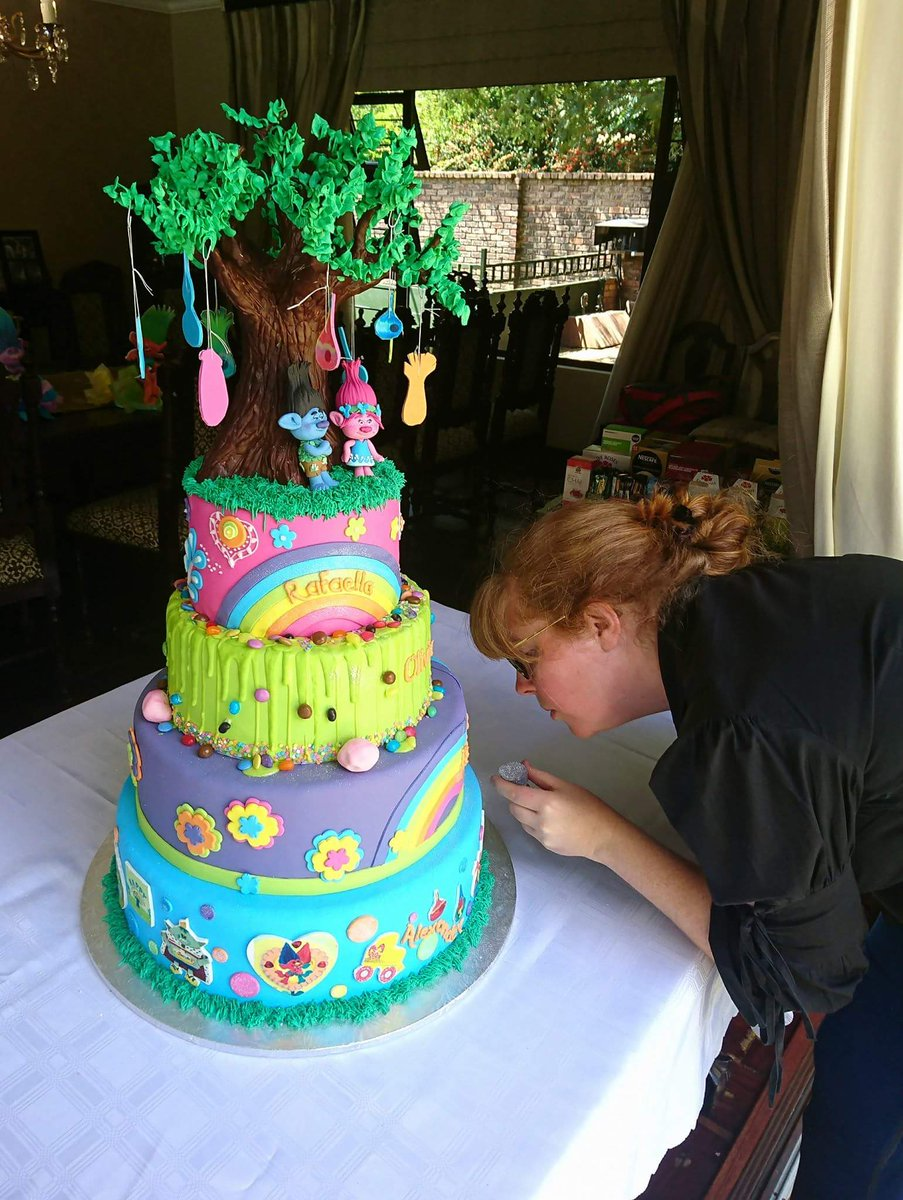 Emily S Cakes On Twitter So How Is Your Public Holiday Going Look What We Got Up To This Morning What Do You Guys Think Trolls Trollscake Emilyscakes Emilyscakessa Cake Birthdaycake Dreamworks