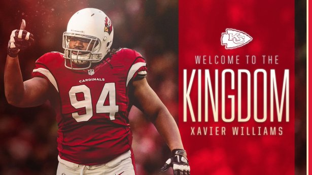 Image result for xavier williams chiefs