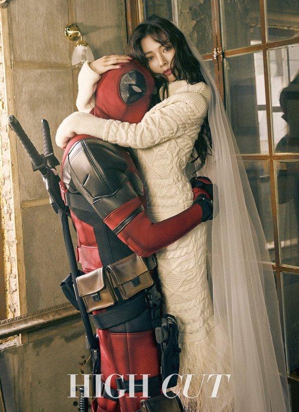 Image result for deadpool hyuna site:twitter.com
