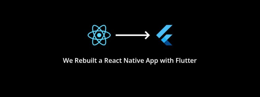We Rebuilt a React Native App with Flutter  #mobile_app_development #google #react #flutter