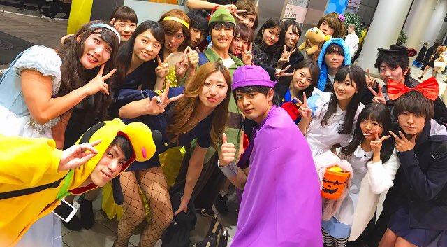 test ツイッターメディア - <ハロパ> 1年生と2年生で仮装をして集まり、夜は渋谷のハロウィンに行って色んな人と写真を撮りました! 各々個性のある仮装でとても盛り上がりましたよ! https://t.co/oXQIJgVvb4