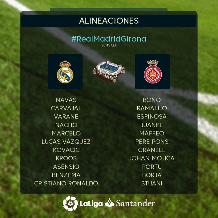 Shaxda Rasmiga Ah Real Madrid vs Girona Oo La Shaaciyay & Zidane Oo Saf Xooga Soo Xushay