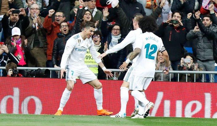 Real Ka Aargudatay Girona Kulan CR7 Uu 4-ley Ka Kacay & Madrid Oo Muujisay Inay Wali Nooshahay