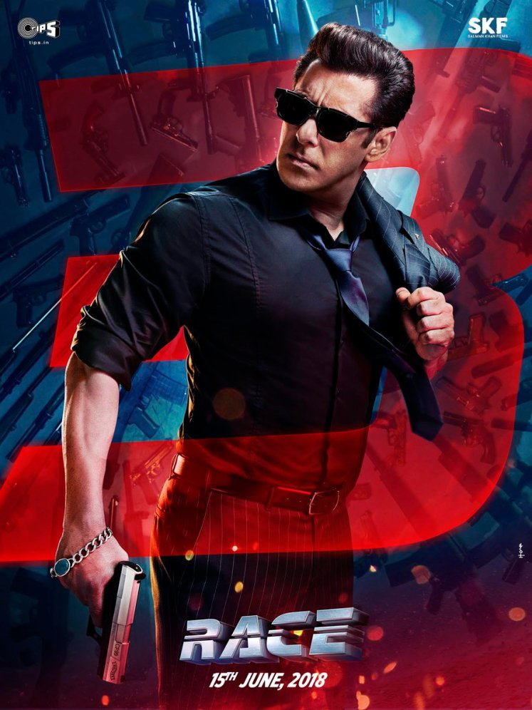 Salman Khan First Look at RACE 3