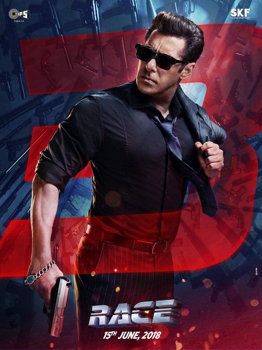 Salman Khan First Look at RACE 3