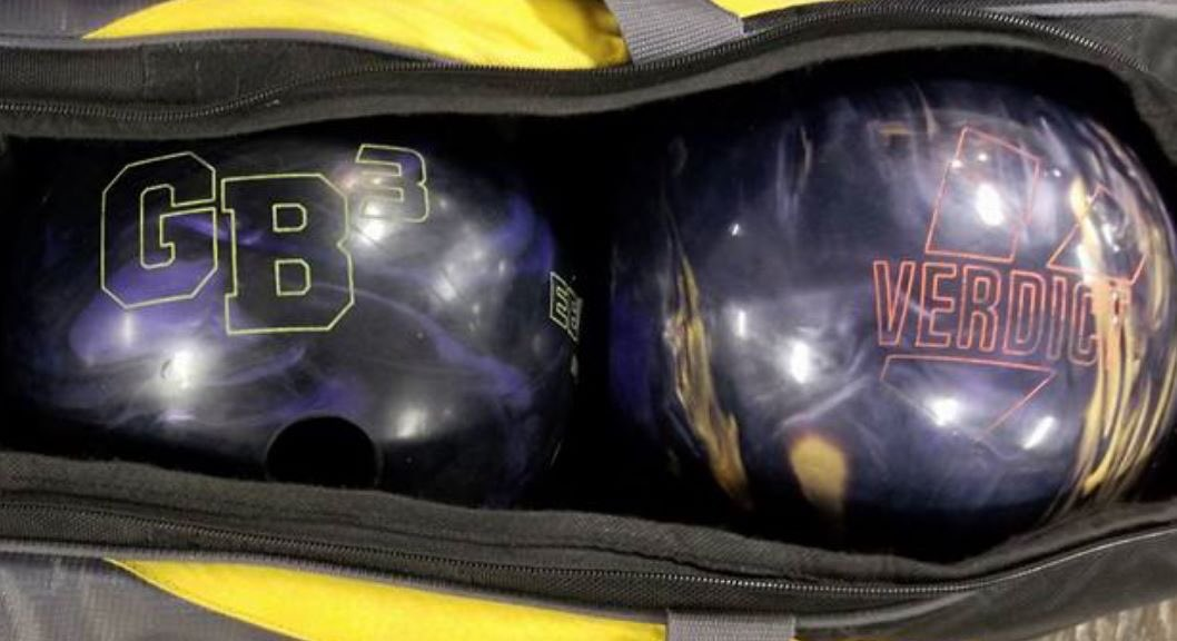 test Twitter Media - May this powerful purple pair reach your bowling bag! 💜 #Ebonite #GB3 #VerdictPearl https://t.co/aVGUVmW08K