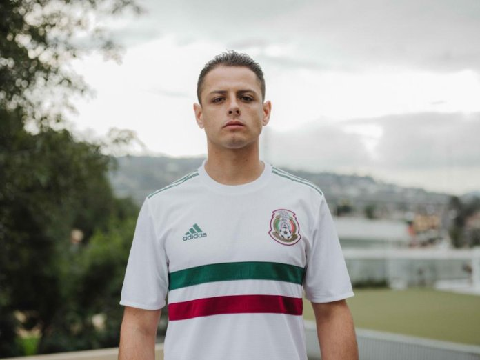 Segundo uniforme de mexico 2018