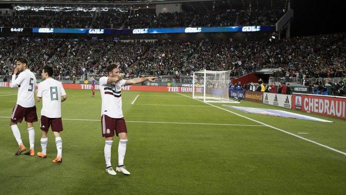 Goles de México vs Islandia 2018