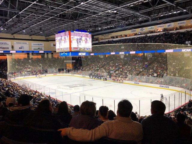 """PPL Center on Twitter: """"Penn State Hockey fans have taken over PPL Center  tonight! 🏒🦁… """""""
