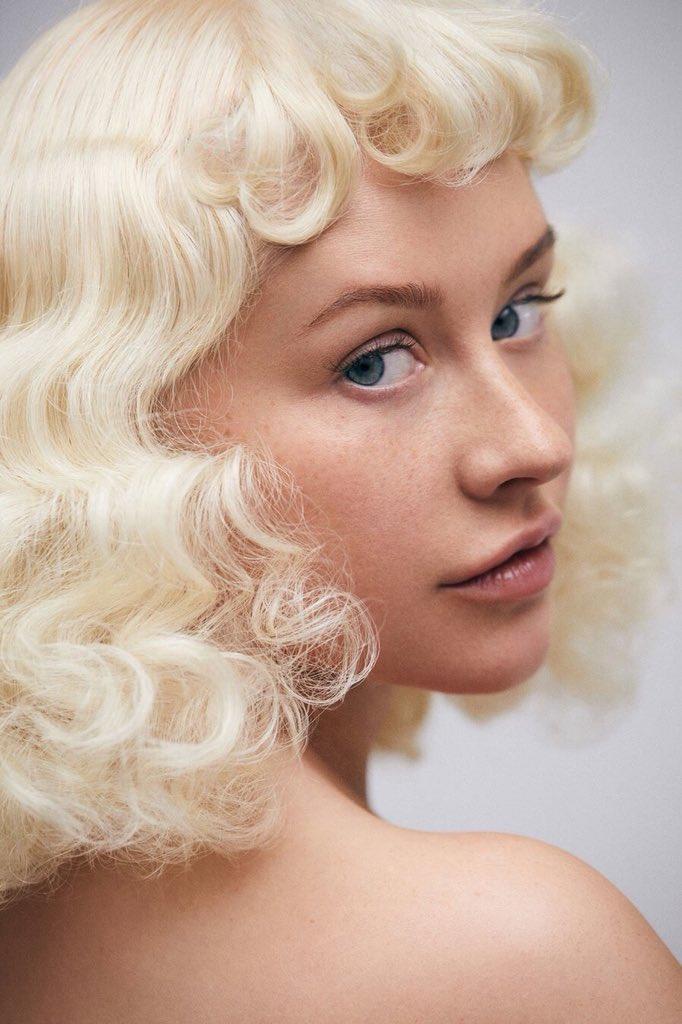 Christina Aguilera sin maquillaje