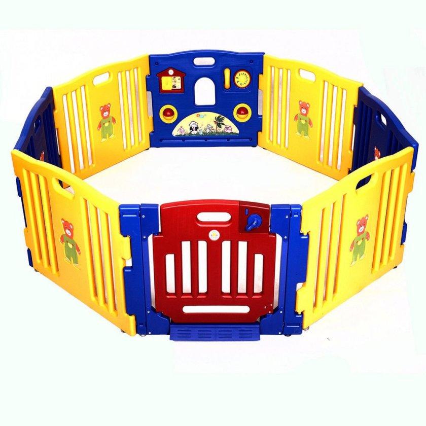 New Baby Playpen Kids 8 Panel Safe...: List Price: $134.99 Deal Price: $89.99...