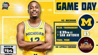 Loyola-Chicago vs. Michigan Live Stream: Watch Final Four Online