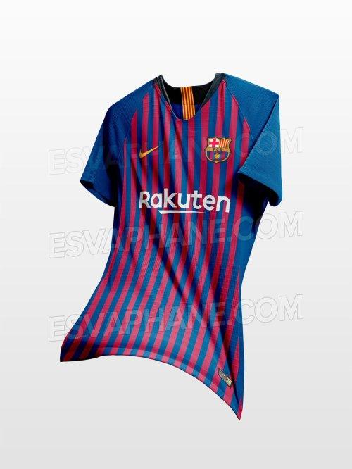 Barcelona camiseta 2018