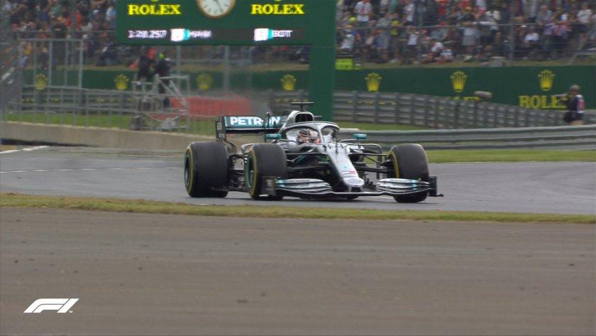 F1 GP Silverstone Qualifiche