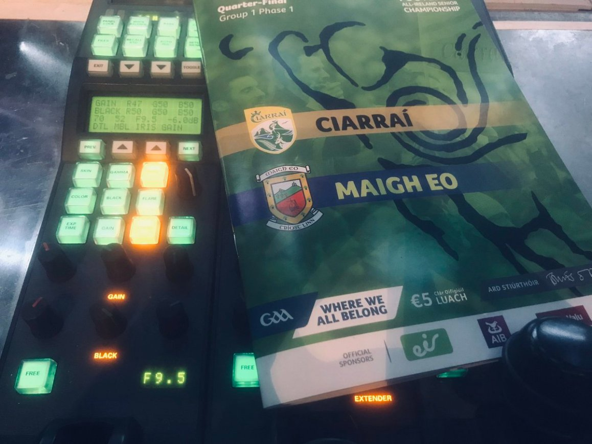 test Twitter Media - It's a warm day in Kerry for @Kerry_Official v @MayoGAA 🥵 Watch it with some aircon on @RTEOne ☺️ https://t.co/hKNvCf7eod