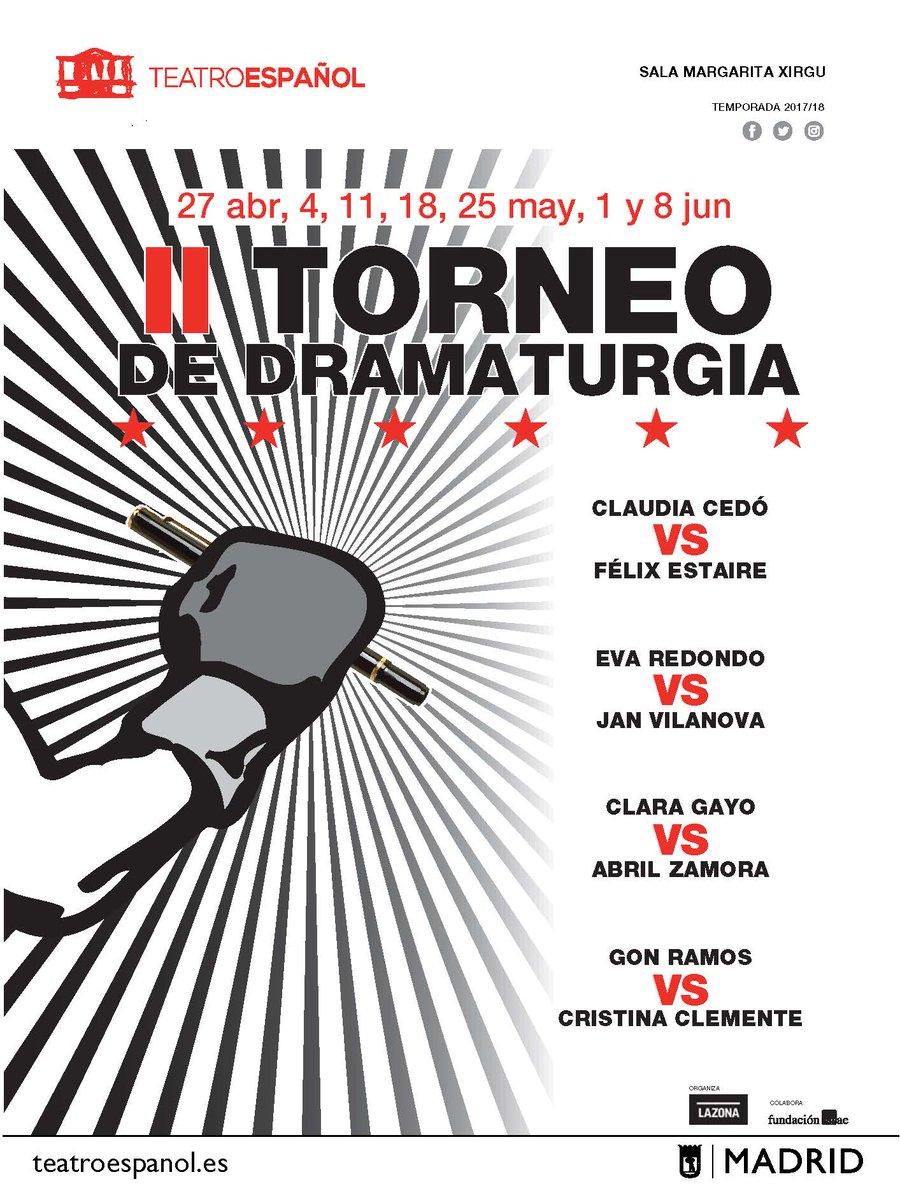 II Torneo de Dramaturgia con textos de FÉLIX ESTAIRE