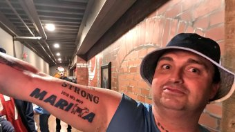 "Titans Superfan Gets Marcus ""Mari-GOAT-a"" Tattoo To Add To His Collection"