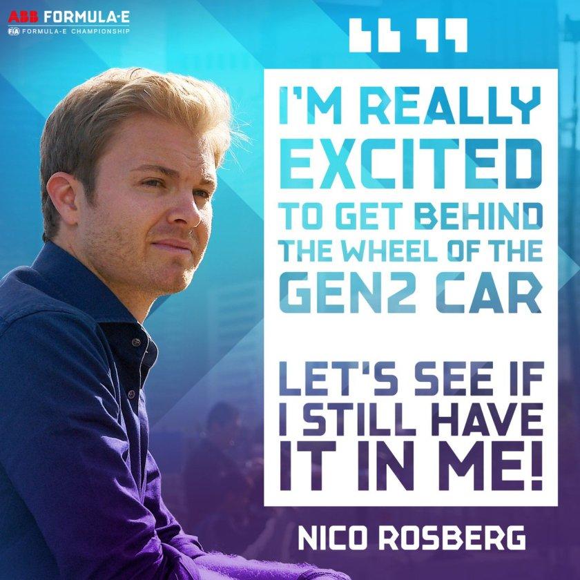 Rosberg Formula E