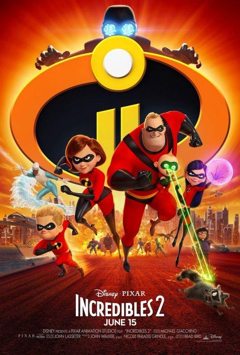 Algemene poster van The Incredibles 2