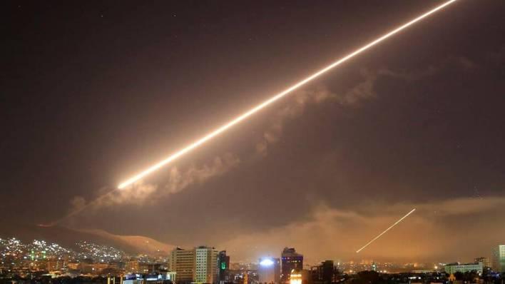 دمشق، سوریه -4:22 PM - 14 Apr 2018 /