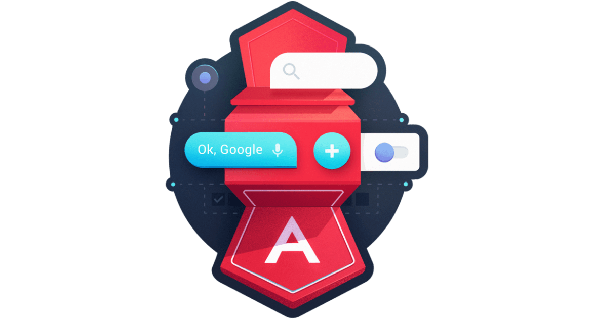 Structure Angular Apps with Angular Material Components - #angular course by @btroncone