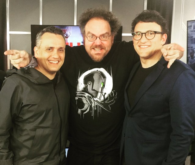 Jon Schnepp And The Russo Brothers